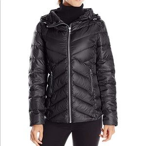 Sam Edelman packable Clara Down jacket -BLACK